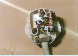 A badly wired plug